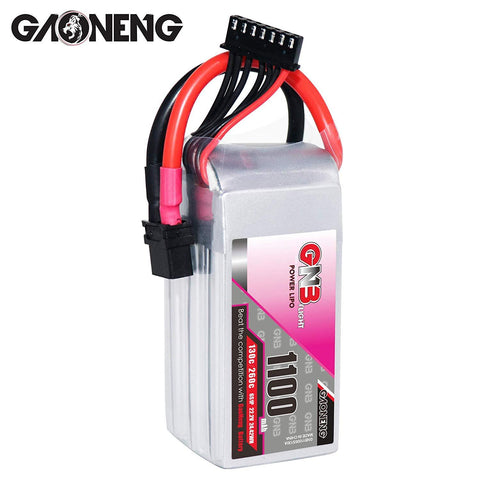 GNB 6S 22.2V 1100mAh 130C LiPo Battery