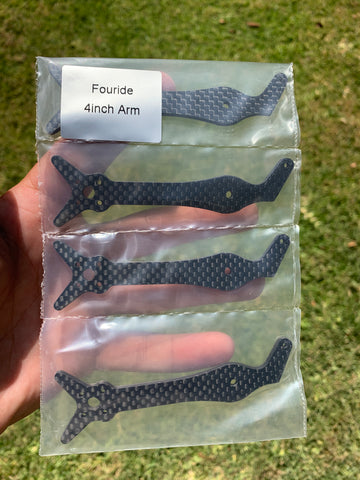 Fouride Spare Arms (4-Pack)