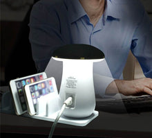 Load image into Gallery viewer, Fast Charging Multi-Port Dock & Lamp (5 PORTS)