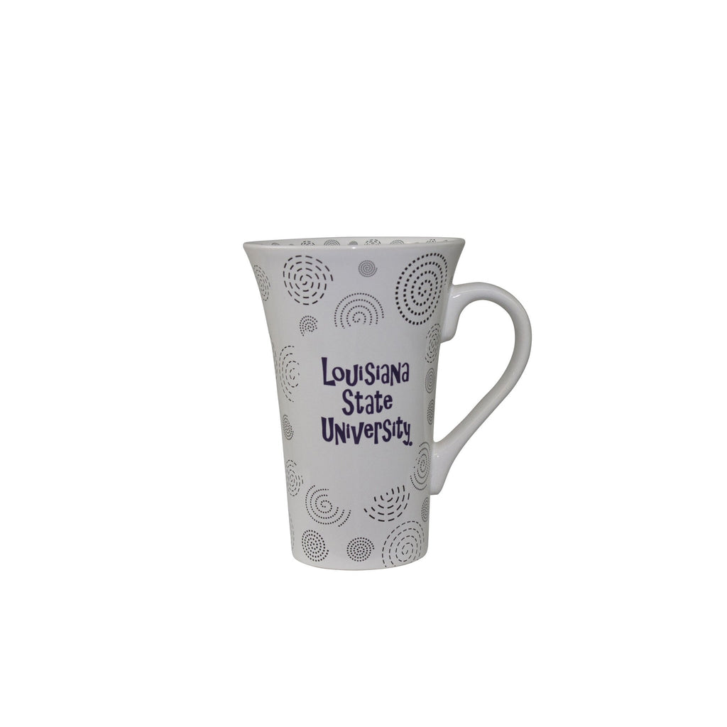 LSU SoHo Swirl Bistro Mug | coffee mugs | Tiger People Clothiers