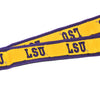 "LSU Deluxe Embroidered 1"" Lanyard Gold-Lanyard-Spirit-Gold-Tiger People Clothiers"