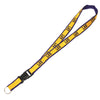 "LSU Deluxe Embroidered 1"" Lanyard Gold 