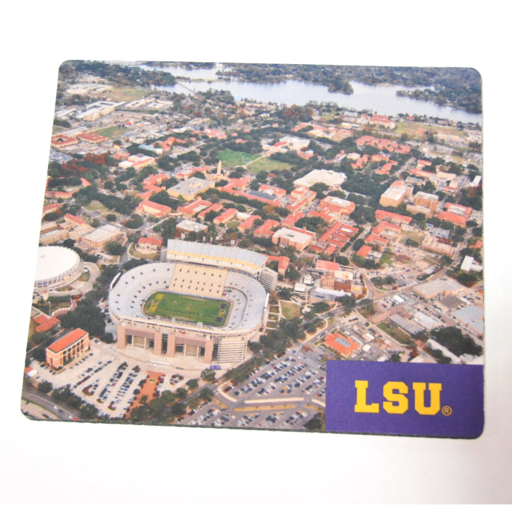 LSU Stadium Mousepad-Mousepad-Spirit-Multi-Tiger People Clothiers