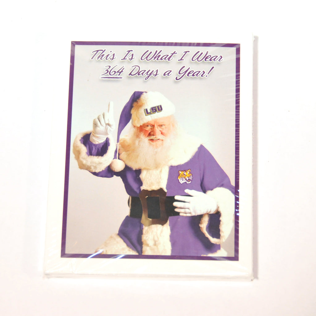 LSU Santa Notecards | Notecards | Tiger People Clothiers