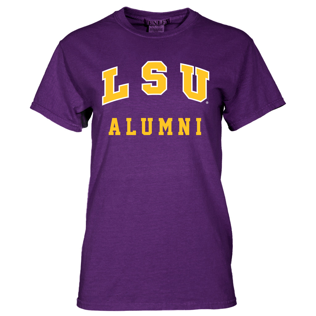 LSU Tigers Basic Alumni Tee | SS Tees | Tiger People Clothiers