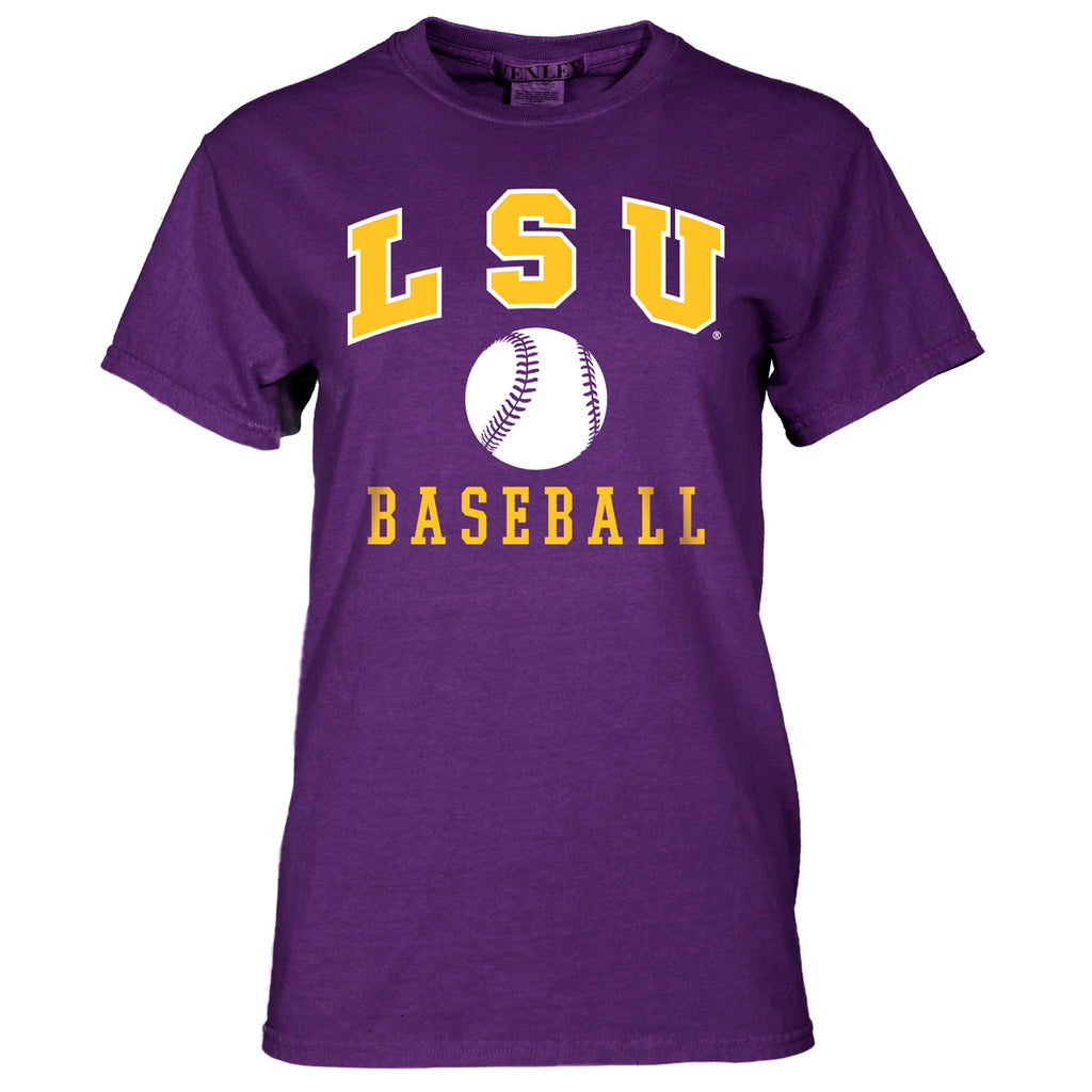 LSU Tigers Baseball Tee-ss tees-Venley-Tiger People Clothiers