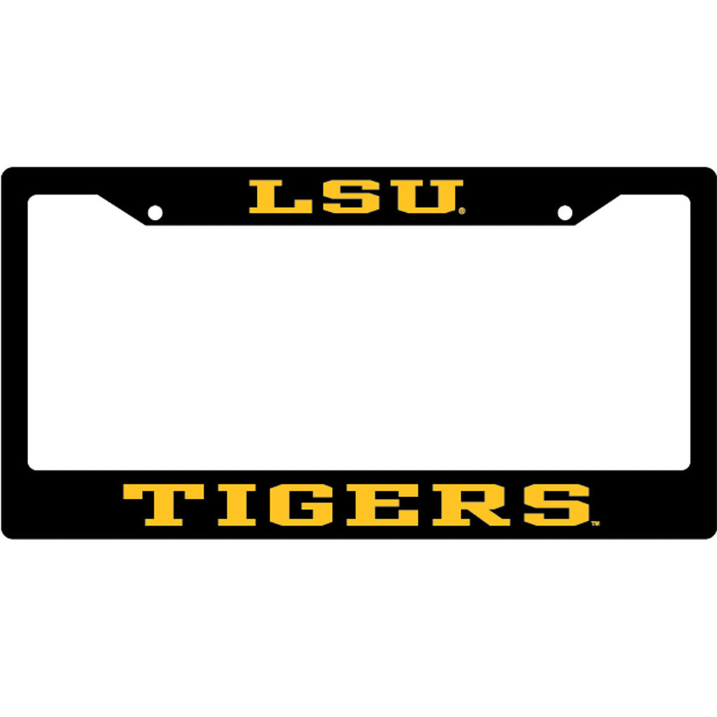 LSU License Plate Frame | License Plate Frames | Tiger People Clothiers