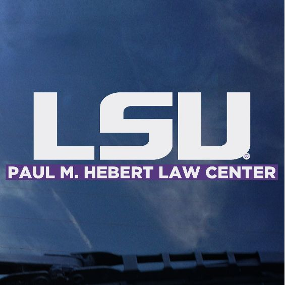 LSU Law School Auto Decal | decals | Tiger People Clothiers