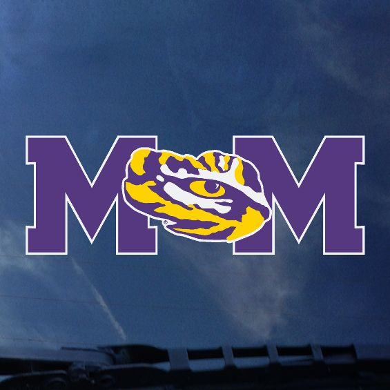 LSU Mom Auto Decal | decals | Tiger People Clothiers