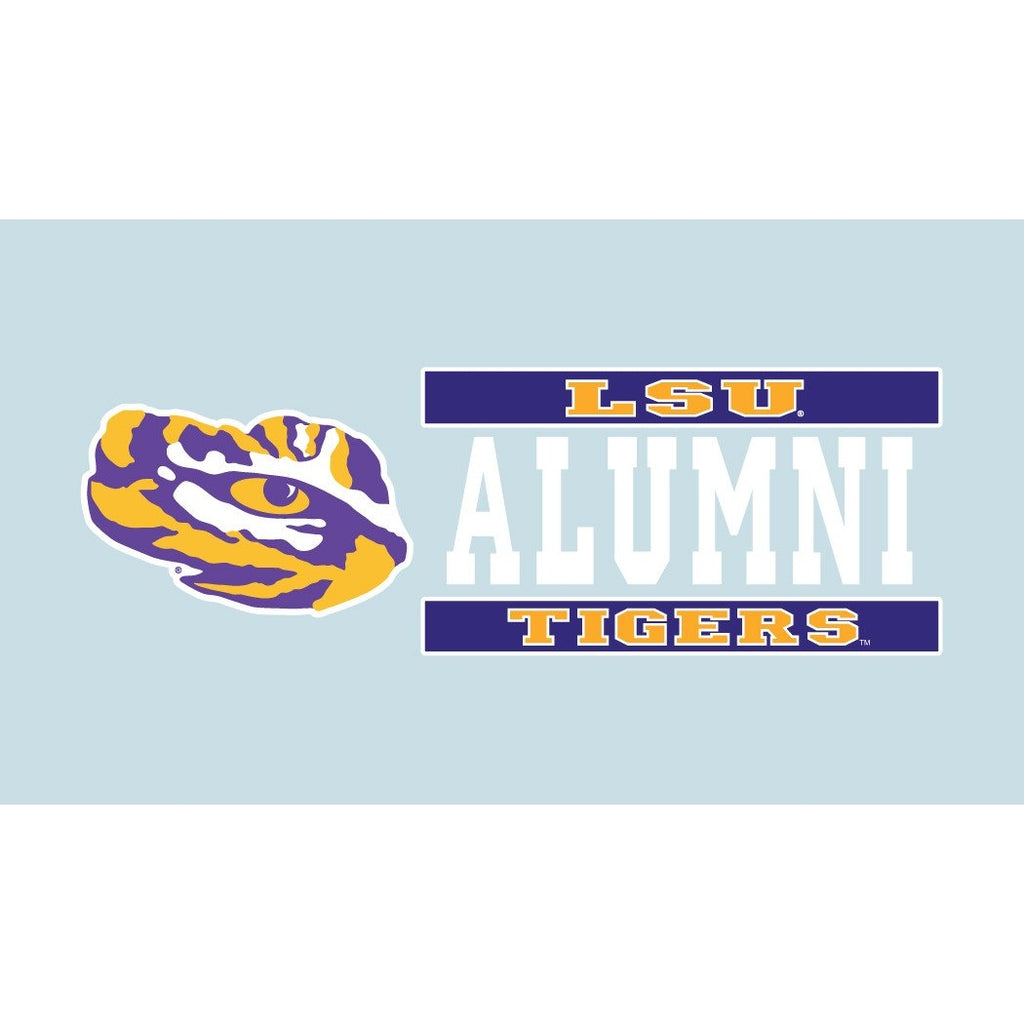 "LSU Tigers Alumni Decal- 6""-decals-Craftique-Tiger People Clothiers"
