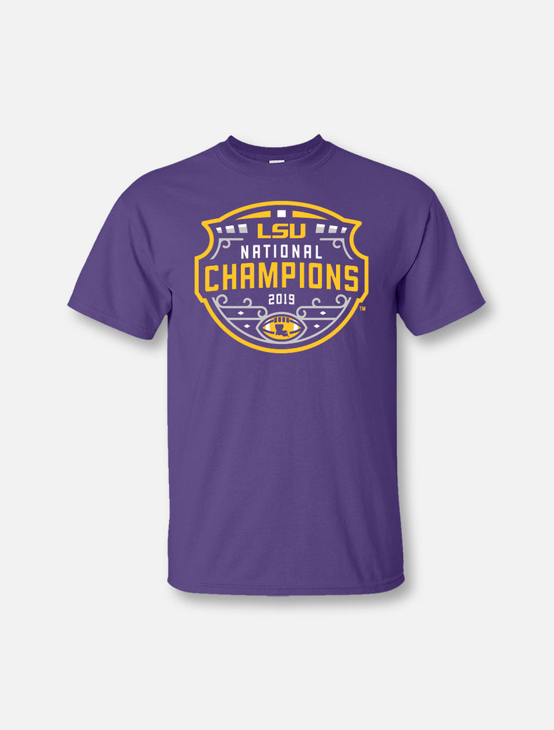 LSU Tigers National Champ Logo Tee | t-shirt | Tiger People Clothiers