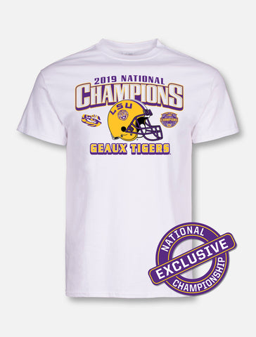 LSU Tigers National Champ Geaux Tigers Tee