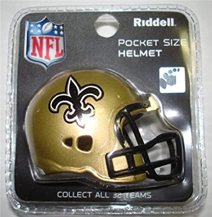 New Orleans Saints Pocket Sized Helmet | Toys | Tiger People Clothiers