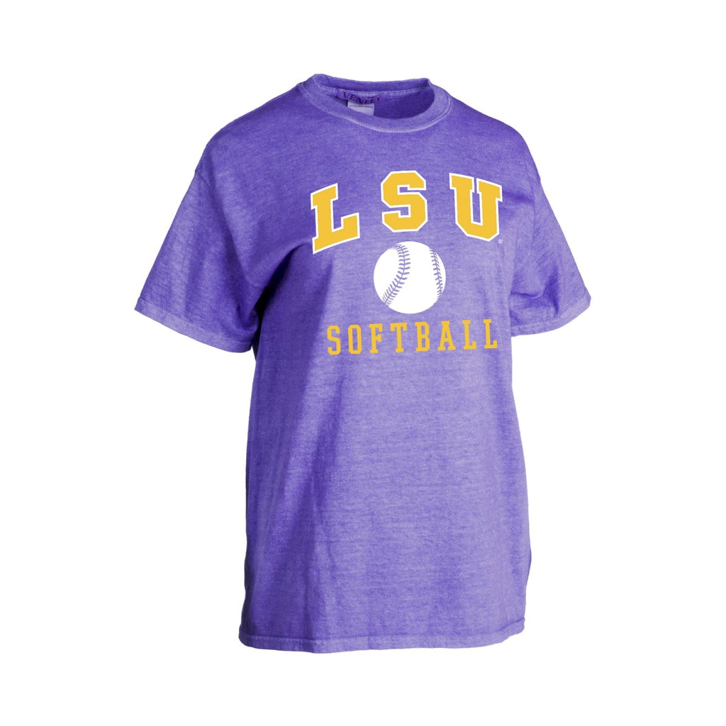 LSU Tigers Basic Softball Tee | ss tees | Tiger People Clothiers
