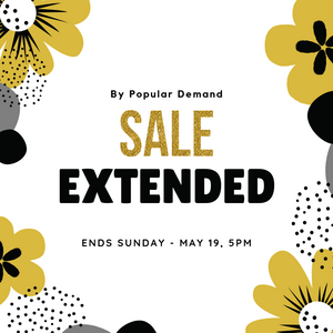 Spring Clearance Sale Extended!