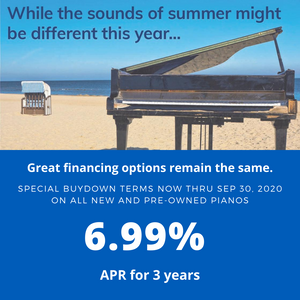 Great Summer Rate - 6.99% APR for 3 Years