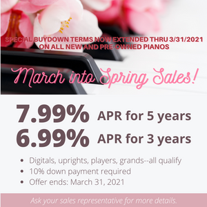 March into Spring Sales!
