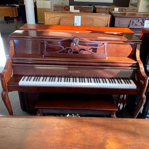 "Charles Walter Console Piano (44"")"