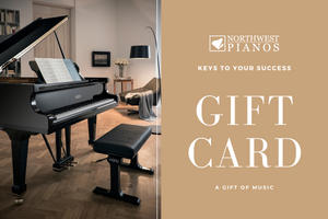 Northwest Pianos Gift Cards - In-Store ONLY