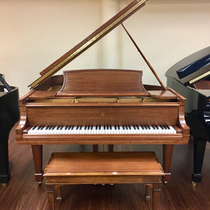 "Steinway & Sons Model L (5'10.5"") Restored and Refinished"