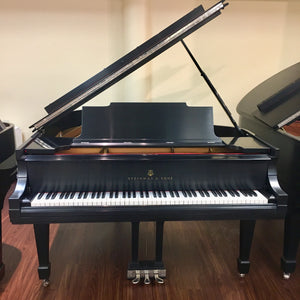 "Steinway & Sons Model M (5'7"") Restored and Refinished"