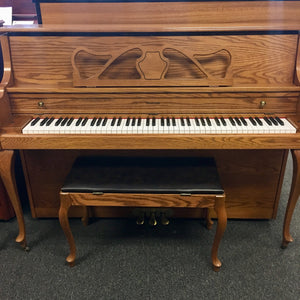 "Schuerman Console Piano (43"")-SOLD"