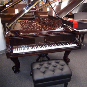 Steinway C Restored and Refinished-SOLD