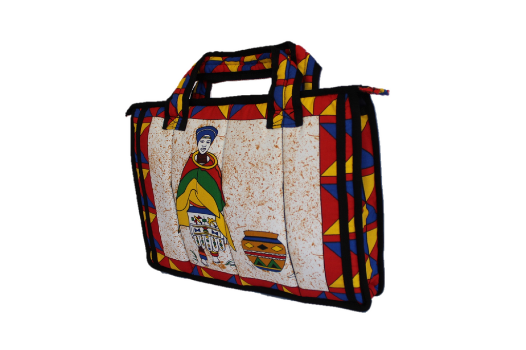 Ndebele Laptop Bag
