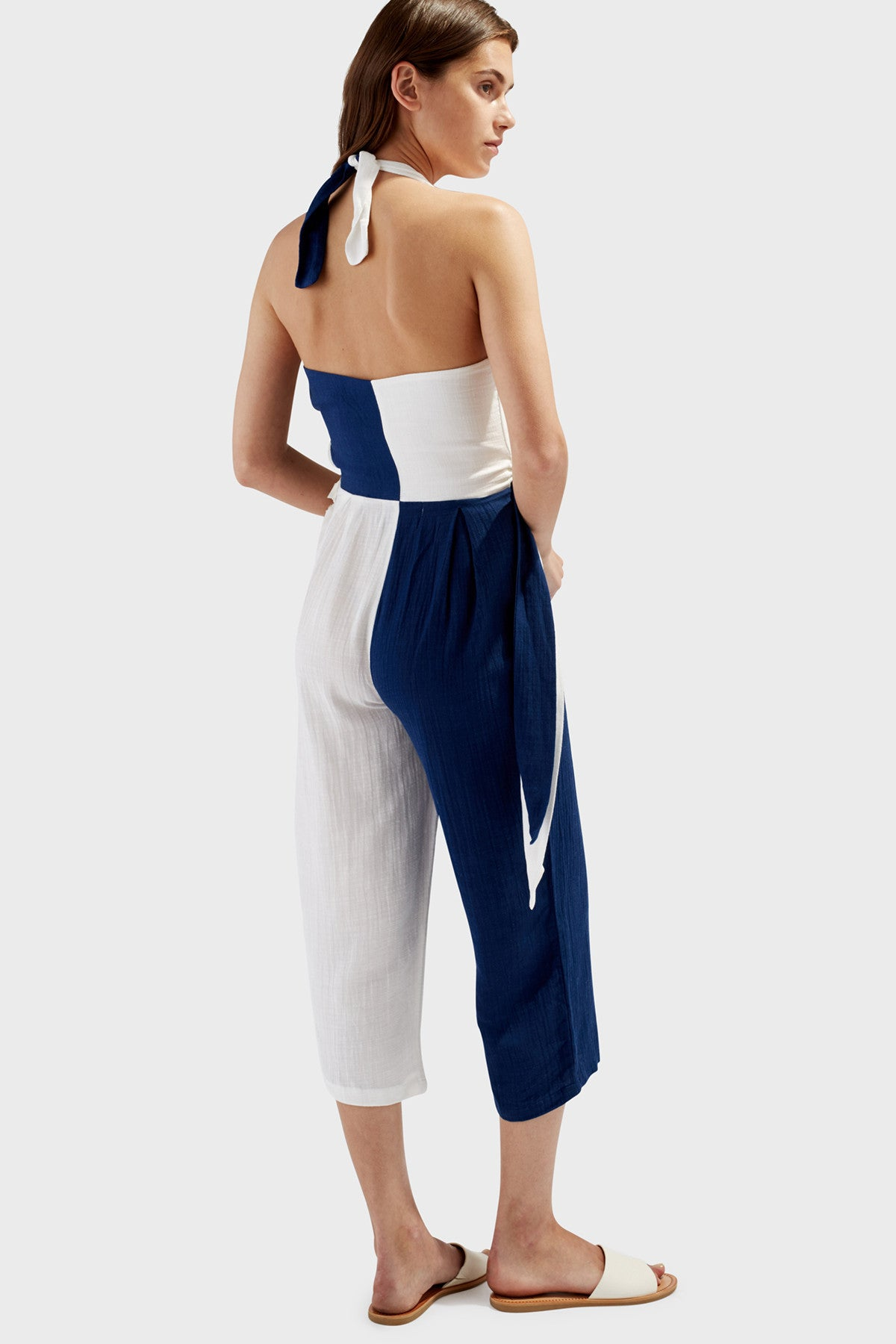 The Camille Jumpsuit - Solid & Striped