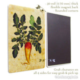 Hot Chili Pepper Plant #2 Deco Magnet