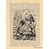 Alice in Wonderland Art Print, Pack of Cards