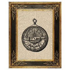 Arabic Astrolabe Art Print