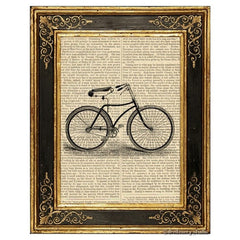 Bicycle #1 Art Print