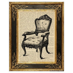 Chair #1 Art Print