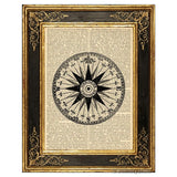 Compass Rose #3 Art Print