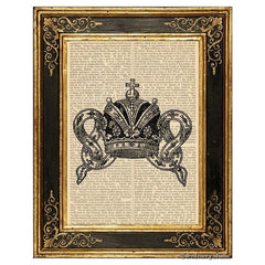 Royal Crown #1 Art Print