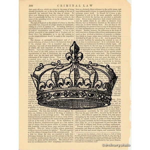 Royal Crown #2 Art Print