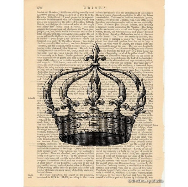 Royal Crown #5 Art Print