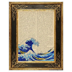 Great Wave Off Kanagawa #1 Art Print