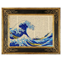 Great Wave off Kanagawa #3 Art Print