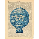 Hot Air Balloon #3 Art Print
