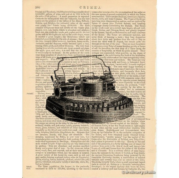 Typewriter #2 Art Print