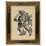 Perseus and Medusa Head Art Print