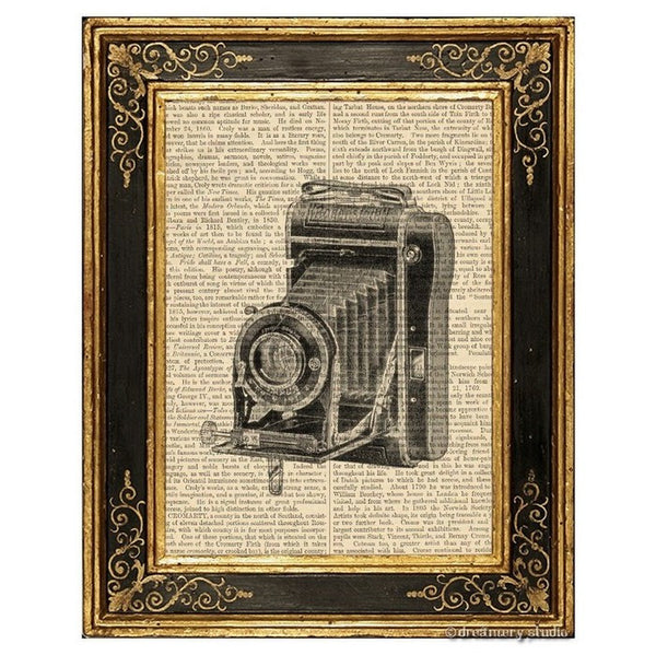 Vest Pocket Folding Camera #1 Art Print