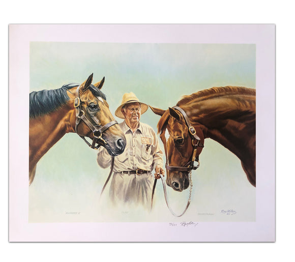 Nijinsky/Clay/Secretariat