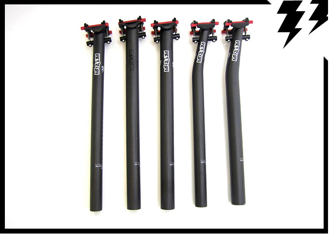 NEW 30.9mm x 420mm MT ZOOM ultralight seatpost