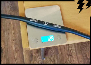 ULTRALIGHT 760MM CARBON FLAT BAR, 9 DEGREE BEND 128G (back in May)