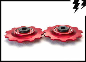 """BULLET PROOF"" CERAMIC BEARING JOCKEY WHEELS 11T"