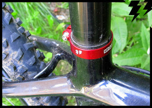 ULTRALIGHT SEATPOST CLAMPS 6g,  36.4mm, 38mm