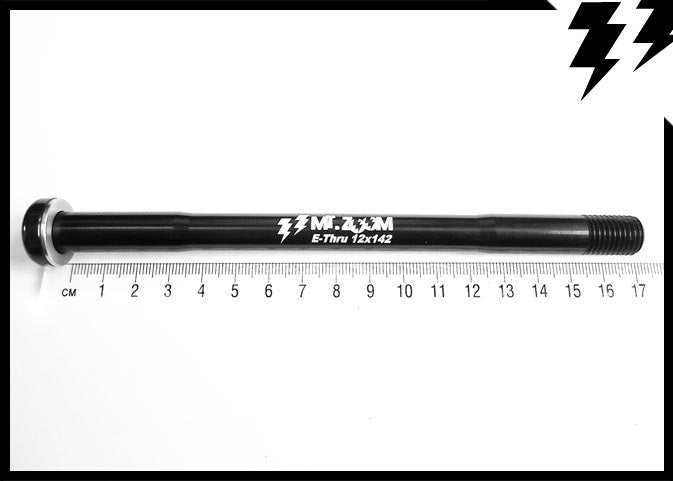 SHIMANO E-THRU REAR AXLE 12 X 142mm(axle) X 1.5MM L.170.5mm 39G